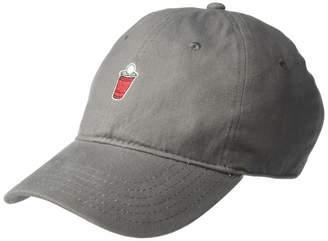 Concept One Men's Beer Pong Embroidered Wash Adjustable Baseball Cap