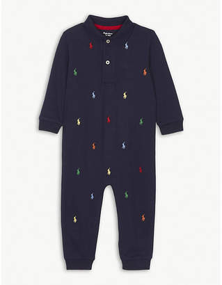 Ralph Lauren Logos cotton baby-grow Newborn-12 months