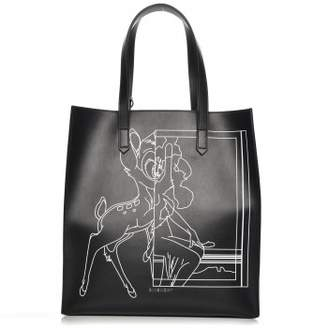 Givenchy Stargate Tote Bambi Print Medium Black