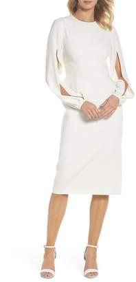 Jill Stuart Slit Sleeve Sheath Dress