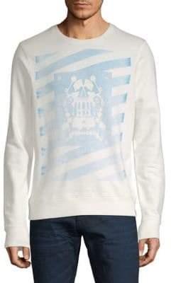 Scotch & Soda Amsterdams Blauw Cotton Sweater