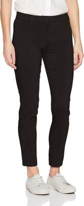My Michelle Leighton By Junior's Zip Front Skinny Career Pant