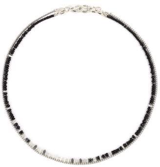 John Hardy 'Asli Classic Chain' bead silver double row necklace