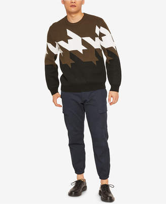 Armani Exchange Mens Geometric Sweater