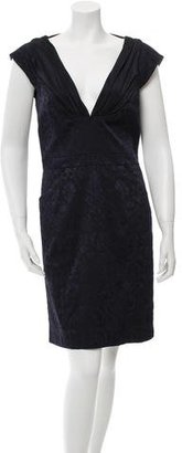 Nicole Miller Sleeveless Patterned Dress $105 thestylecure.com