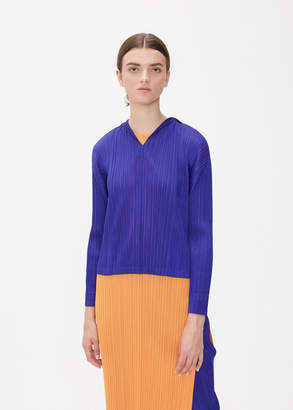 Pleats Please Issey Miyake GLASS COLORS Hooded Top