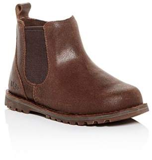 UGG Boys' Callum Cracked Leather Boots - Walker, Toddler