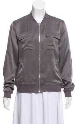 Equipment Lightweight Silk Jacket