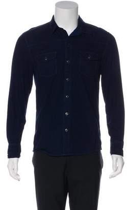 Paige Denim Denim Button-Up Shirt
