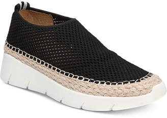 Franco Sarto Pascha Perforated Slip-On Espadrille Fashion Sneakers Women's Shoes