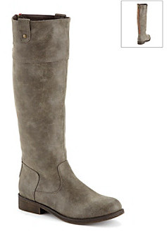 "Madden-Girl Capitol"" Knee High Boots with Stud Detail"