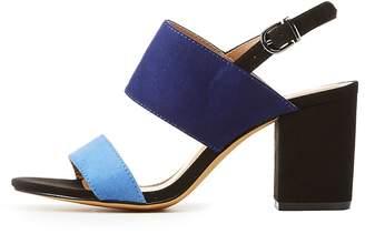 Charlotte Russe Colorblock Sandals