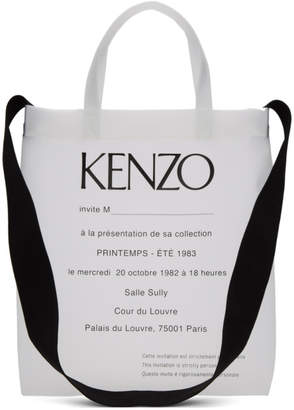 Kenzo Transparent Invitation Tote