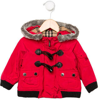 Burberry Infants' Puffer Coat $175 thestylecure.com