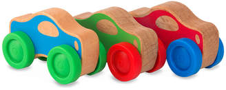 Melissa & Doug Wooden small stack cars