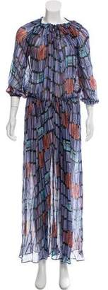 See by Chloe Silk Maxi Dress