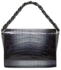 Nancy Gonzalez Carrie Ombre Crocodile Clutch Bag