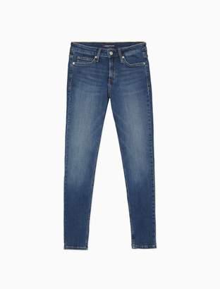 Calvin Klein CKJ 001 super skinny malibu blue jeans