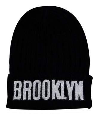 Hunter City Sk1170 Brooklyn Glitter Patch Beanie Hat