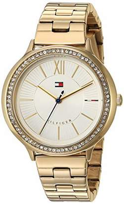 aad90059 Tommy Hilfiger Women's Quartz Watch with -Tone-Stainless-Steel Strap
