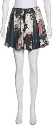 Thakoon Pleated Mini Skirt