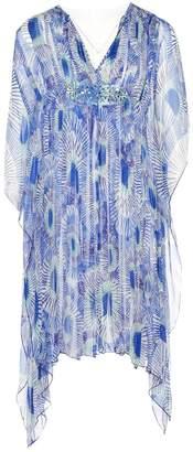 Antik Batik Blue Silk Dresses