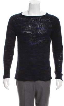 The Elder Statesman Cashmere Long Sleeve Sweater