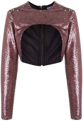 Tufi Duek sequin shrug