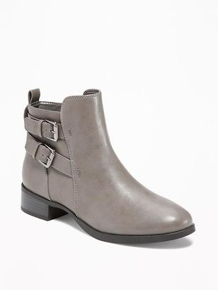 Moto Ankle Boots for Women $42.94 thestylecure.com