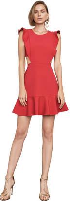 BCBGMAXAZRIA Nicole Cutout A-Line Dress