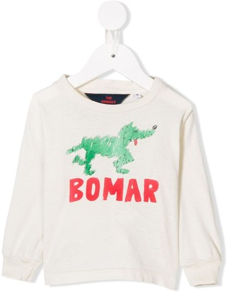 The Animals Observatory printed sweatshirt