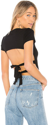 by the way. Halle Backless Tee