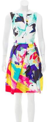 Milly Sleeveless Printed Dress w/ Tags