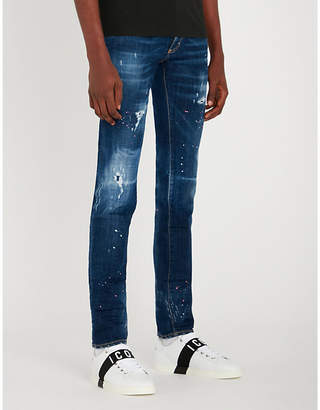 DSQUARED2 Cool Guy bleached slim-fit skinny jeans