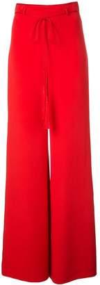 Cushnie tassel detail palazzo trousers