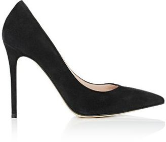 Barneys New York Women's Pointed-Toe Pumps-BLACK $295 thestylecure.com
