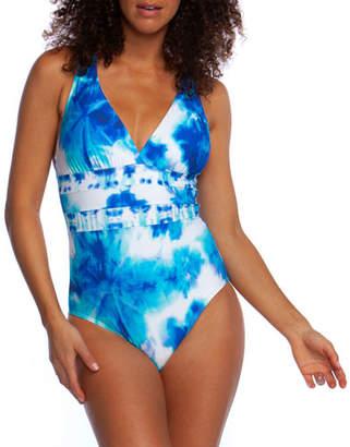 La Blanca Glow Away Strappy One-Piece Swimsuit