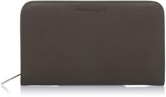 Alexander McQueen Textured Leather Wallet