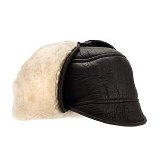 Eastern Counties Leather Mens Harrison Aviator Sheepskin Hat (XL) 7938dd9d9419