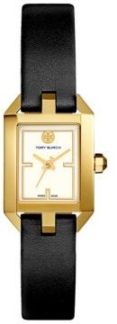 Tory BurchTory Burch Dalloway Goldtone Stainless-Steel and Leather Strap Watch
