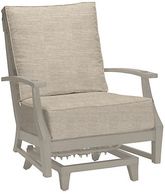 Summer Classics Inc Croquet Spring Club Chair - Dove Sunbrella - SUMMER CLASSICS INC