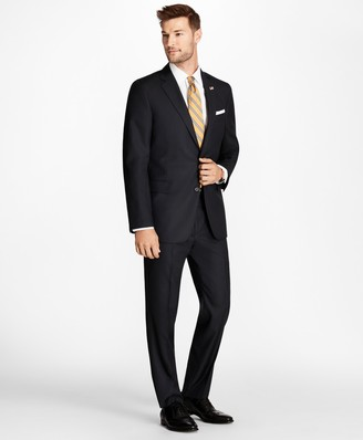 Brooks Brothers Regent Fit Blue Herringbone 1818 Suit