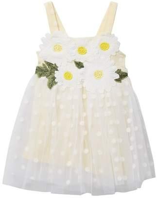 Baby Sara Empire Polka Dot Dress (Baby Girls)