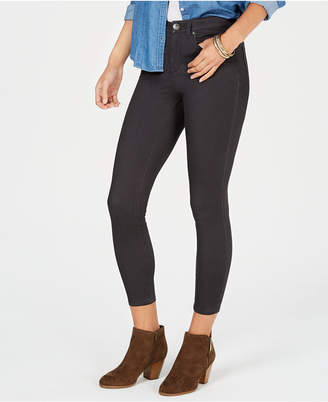 Style&Co. Style & Co Super-Skinny Brushed Ankle Jeans