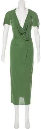Roland Mouret Short Sleeve Maxi Dress