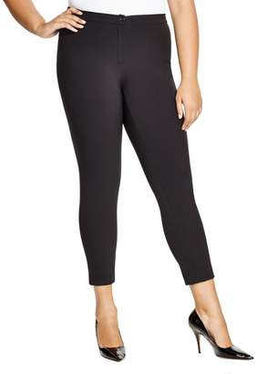 Marina Rinaldi Women's Rumore Cropped Stretch Pants