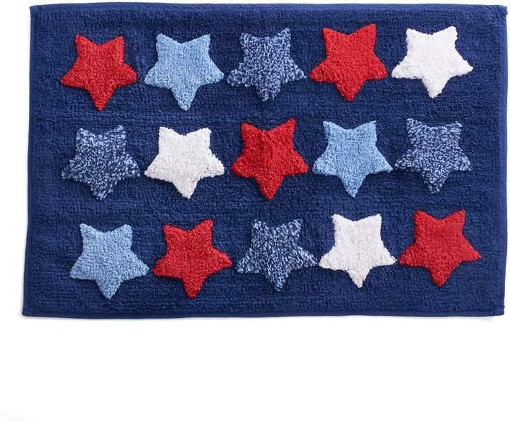 Celebrate Americana Together Multi Stars Bath Rug