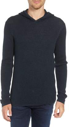 John Varvatos Thermal Hooded Sweater