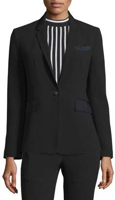 Rag & Bone Windsor One-Button Blazer, Black