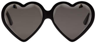Gucci Black Heart Sunglasses